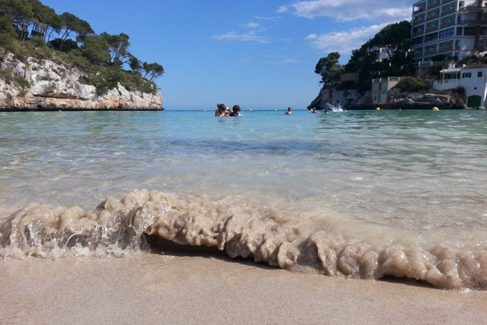 Schnorcheln auf Mallorca: Cala Santanyi