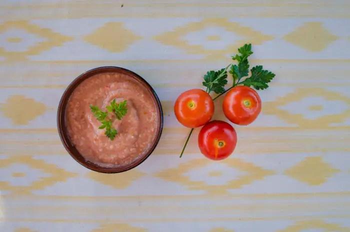 Gazpacho: Kalte Tomatensuppe