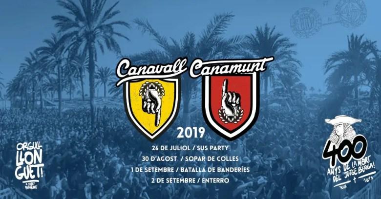 Wasserschlacht in Palma: Canamunt gegen Canavall