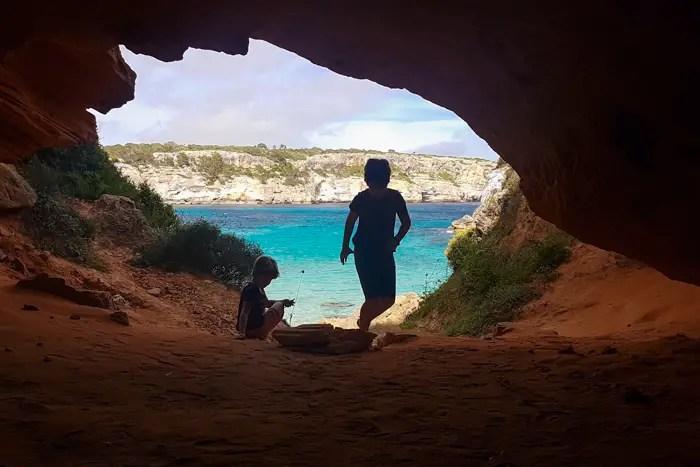 Höhle Caló des Moro