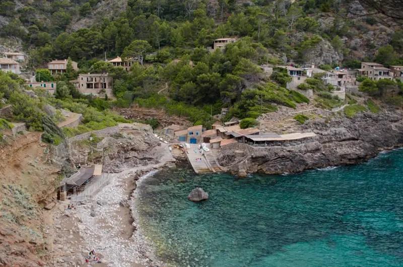 Die Bucht Cala Deià