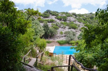 Kloster Lluc: Pool