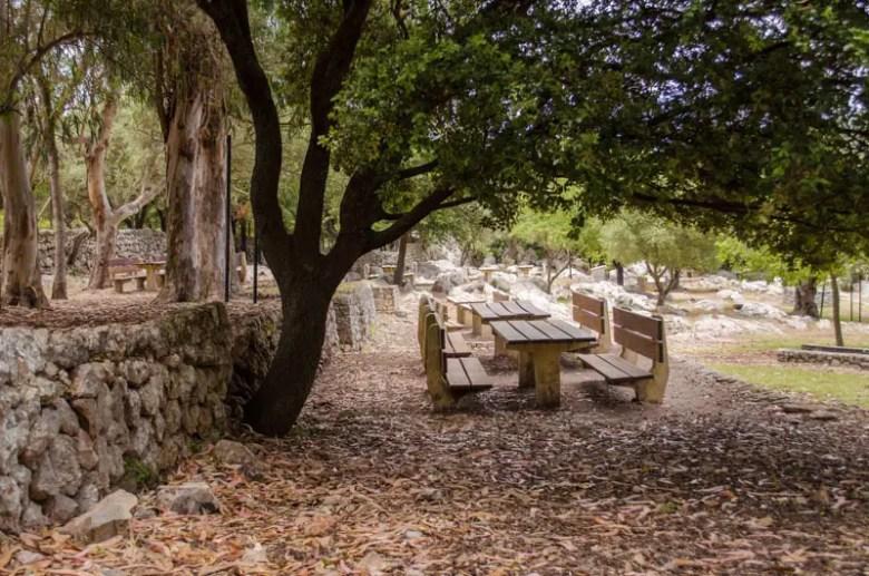Kloster Lluc: Picknick