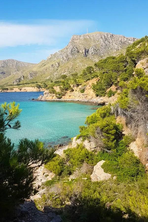 Strände in Betlem auf Mallorca