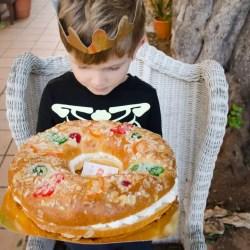 Dreikönigskranz Roscon de Reyes