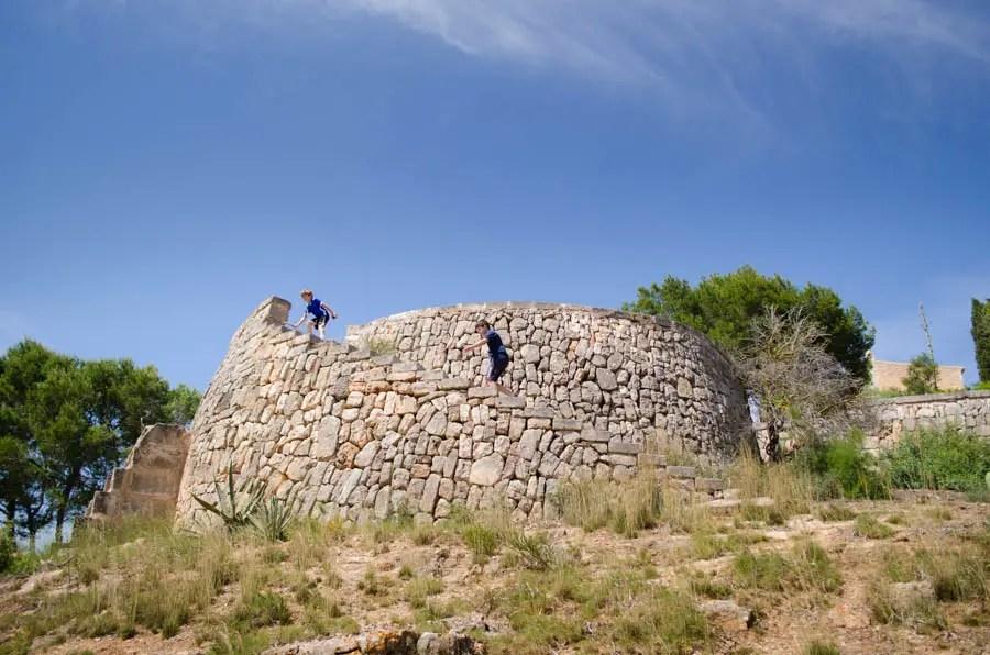 Turm bei Alqueria Blanca