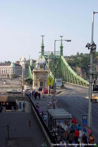 Chain Bridge from Buda to Pest