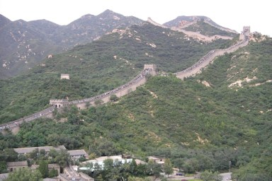 Great Wall of China - Been there, climbed that.