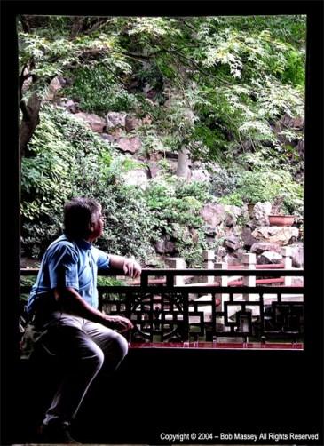 Window in old Shanghai
