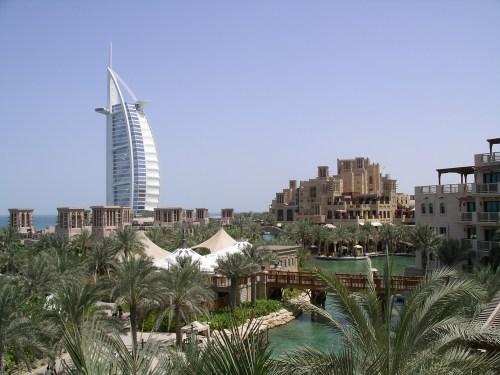 View from Al Qasr, Dubai - at Tolfalas.com