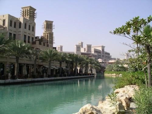 Waterway at the Madinat Jumeirah - May 2007 - from Tolfalas.com