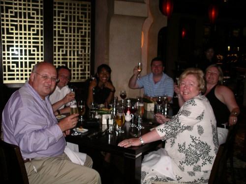 Dinner at Zheng He - May 2007 - at Tolfalas.com