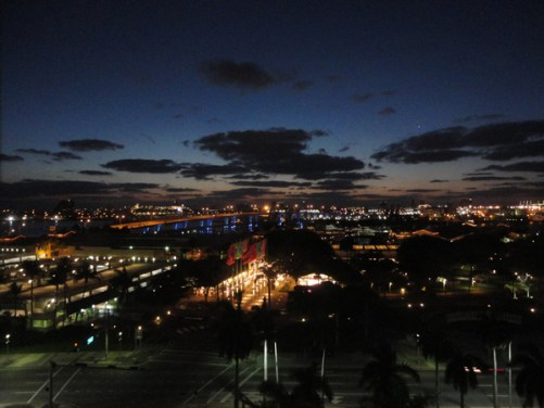 Tolfalas - view from the Holiday Inn - Port of Miami