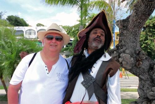 Pirate in Samana - Dominican Republic
