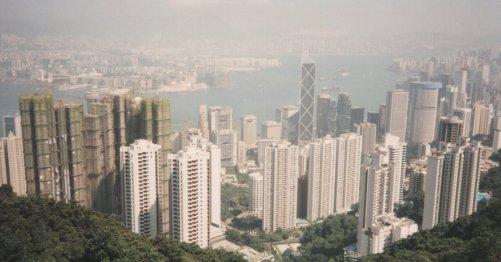 View from 'The Peak' - Hong Kong @ Tolfalas.com