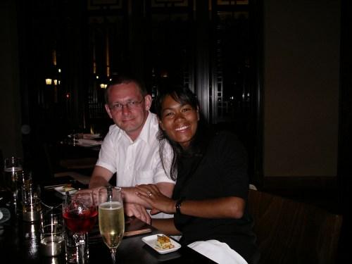 Gaz and Nic on my 50th Birthday @ Tolfalas.com