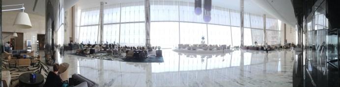 Lobby of the Jumeirah Etihad Towers