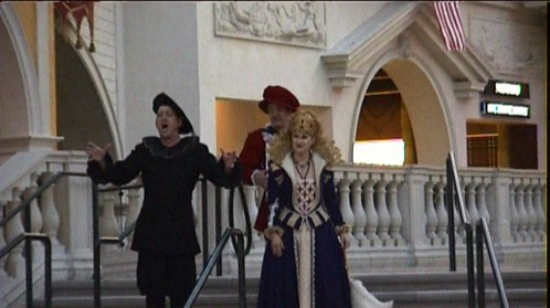 Singers in The Venetian - @ Tolfalas.com