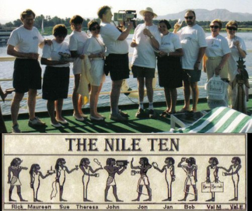The Nile Ten @ Tolfalas.com