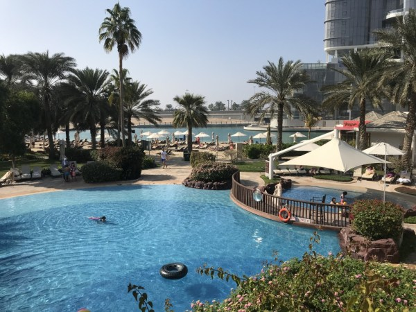 Pools at the Sheraton Abu Dhabi @ tolfalas.com
