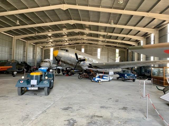 DC3 at Malta Aviation Museum