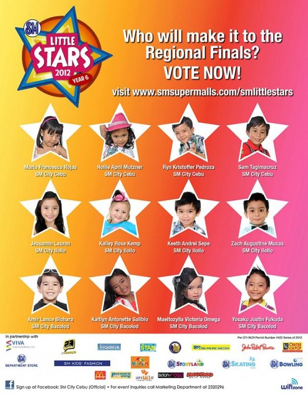SM Little Stars Regional Finals Visayas