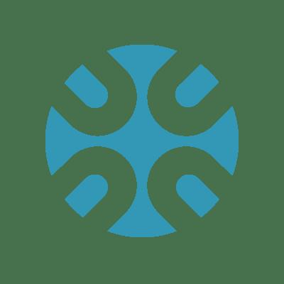 Circular cross logo