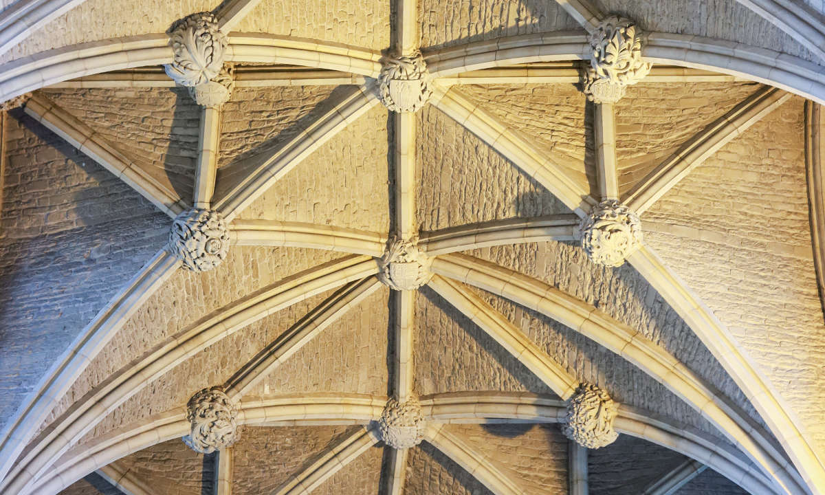 Abbey ceiling