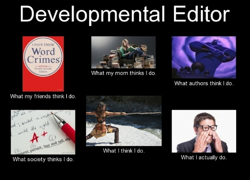 A Day in the Life of a Developmental Editor