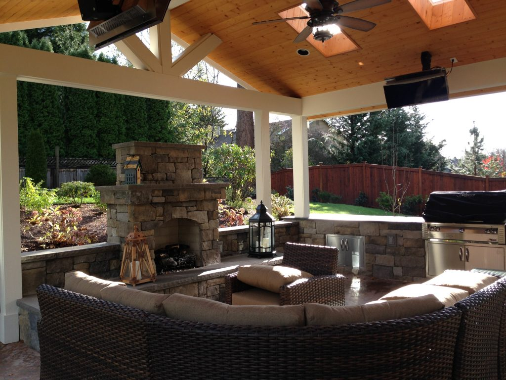 Covered Patios Malone S Landscape