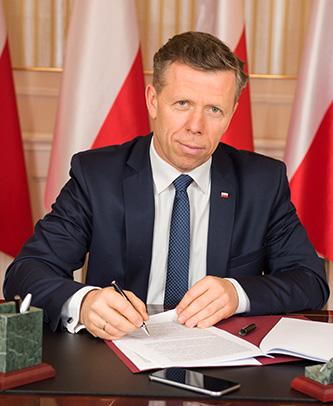 Wojewoda Małopolski Piotr Ćwik