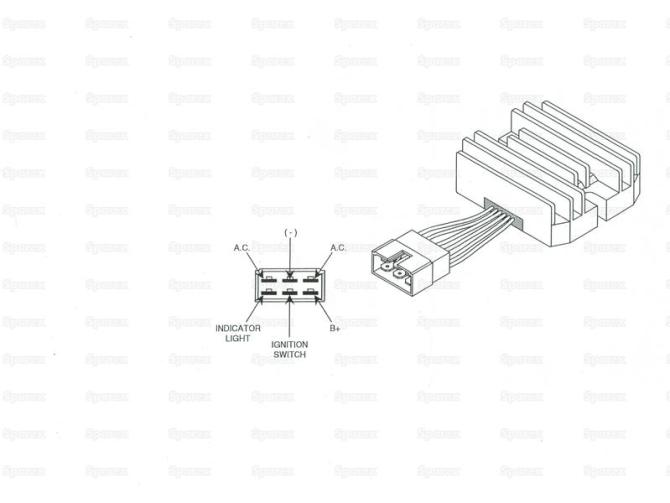 john deere voltage regulator wiring  auto wiring diagram
