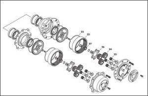 David Brown Tractor Cabin (Page 68) | Sparex Parts Lists & Diagrams | Malpasonlinecouk