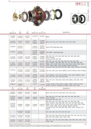 Case IH Catalogue Front Axle (Page 23)   Sparex Parts