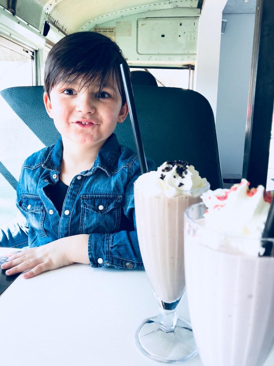 Milkshake Stacy's Diner Køge Marina