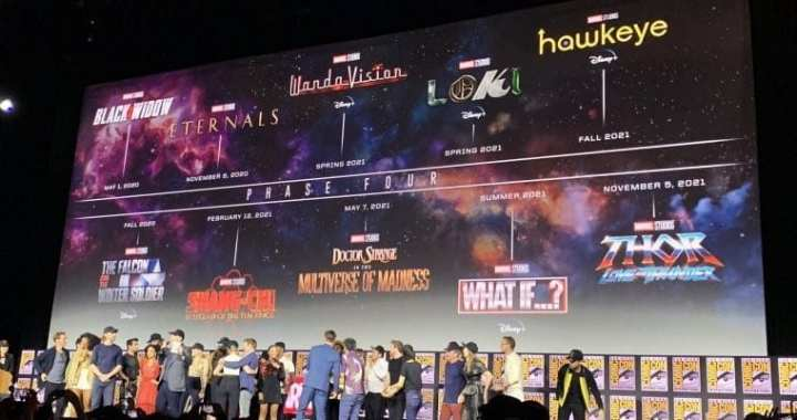 SDCC 2019: MARVEL STUDIOS UNVEIL THEIR FUTURE FILM AND TV PRODUCTIONS