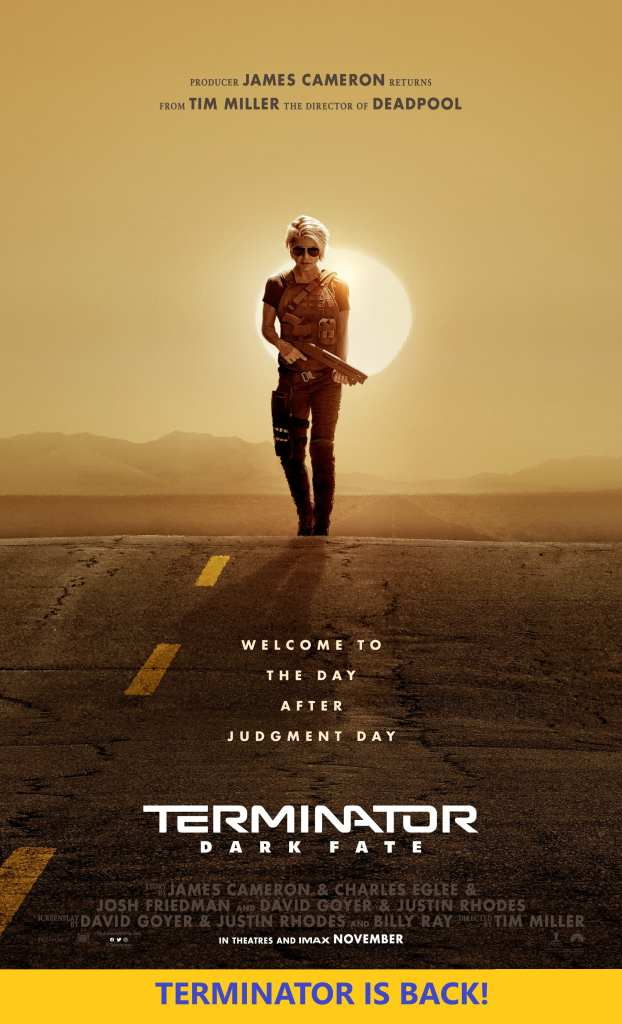 Terminator Dark Fate Movie Poster