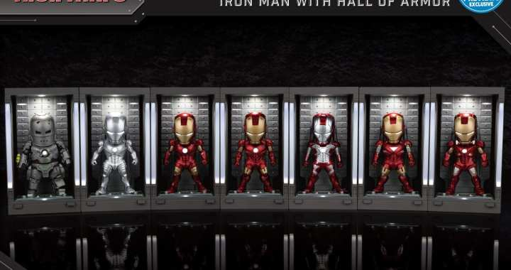PREVIEWS Exclusive Hall of Armor Iron Man Figures Soar into MaltaComics