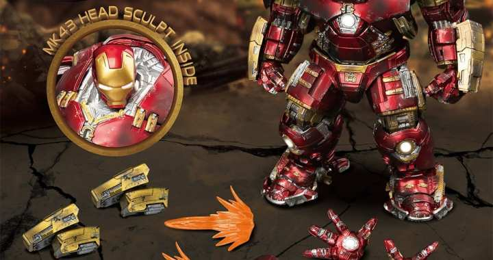 Beast Kingdom's PREVIEWS Exclusive Hulkbuster Figure Blasts Its Way Into MaltaComics
