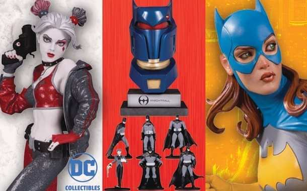 DC Collectibles Statues Highlight July's Previews