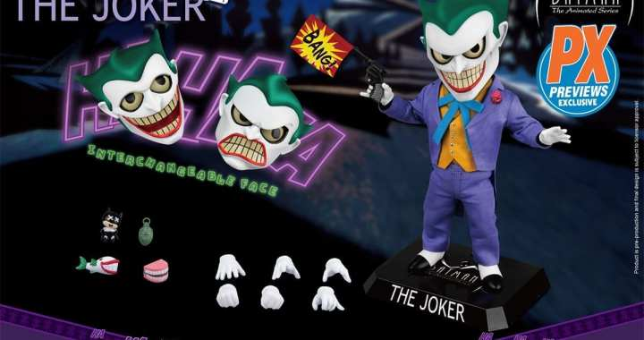 The Joker Returns As New PREVIEWS Exclusive Figure