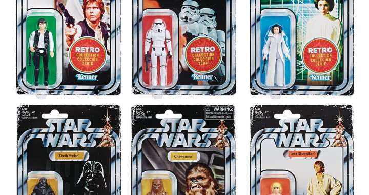 Hasbro Takes Us Back To 1978 with  Classic Star Wars Toys