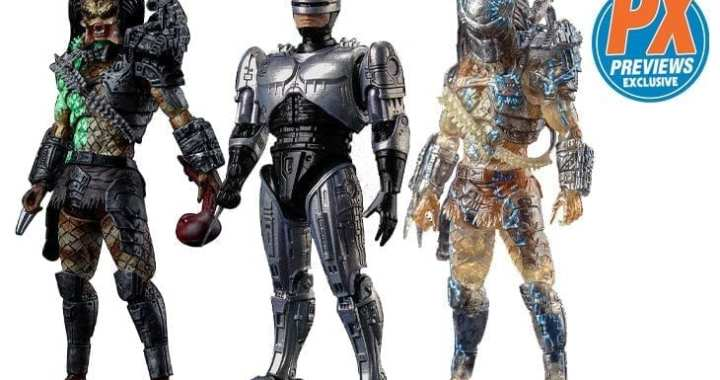 Predator, Robocop Storm MaltaComics as New PREVIEWS Exclusive Figures
