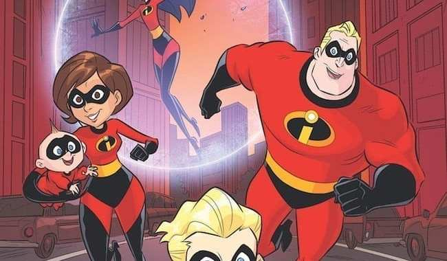 The Parr Family Returns to Dark Horse in The Incredibles 2: Slow Burn
