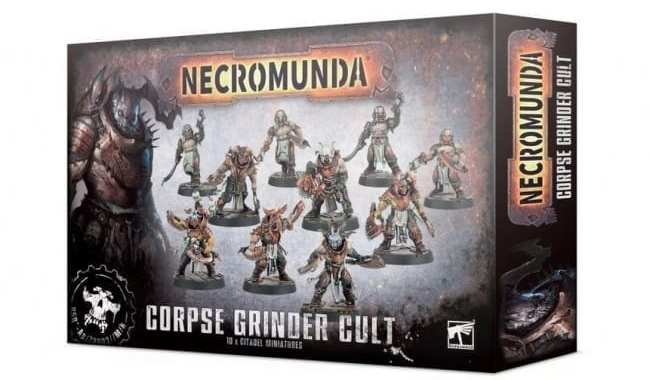 GAMES WORKSHOP RELEASES TWO 'NECROMUNDA' MINIATURES SETS