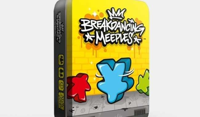 FEEL THE BEAT WITH 'BREAKDANCING MEEPLES'