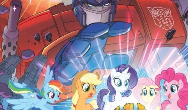 CYBERTRON AND EQUESTRIA COLLIDE IN 'MY LITTLE PONY/TRANSFORMERS'