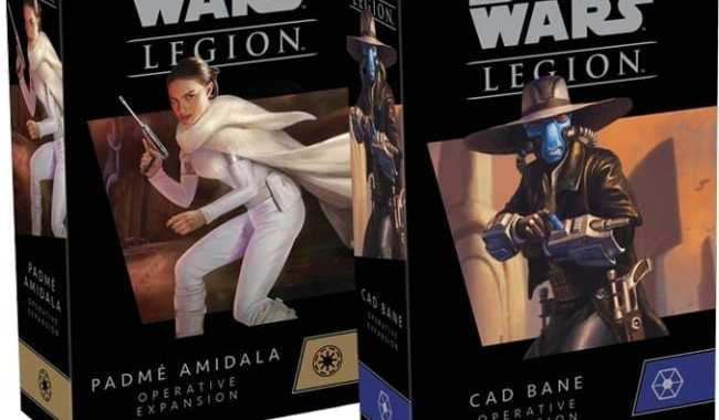 'PADME AMIDALA' AND 'CAD BANE' ARRIVE ON THE 'STAR WARS: LEGION' BATTLEFIELD