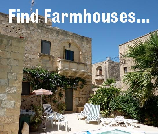 Pin Gozo Farmhouses Image Airways On Pinterest