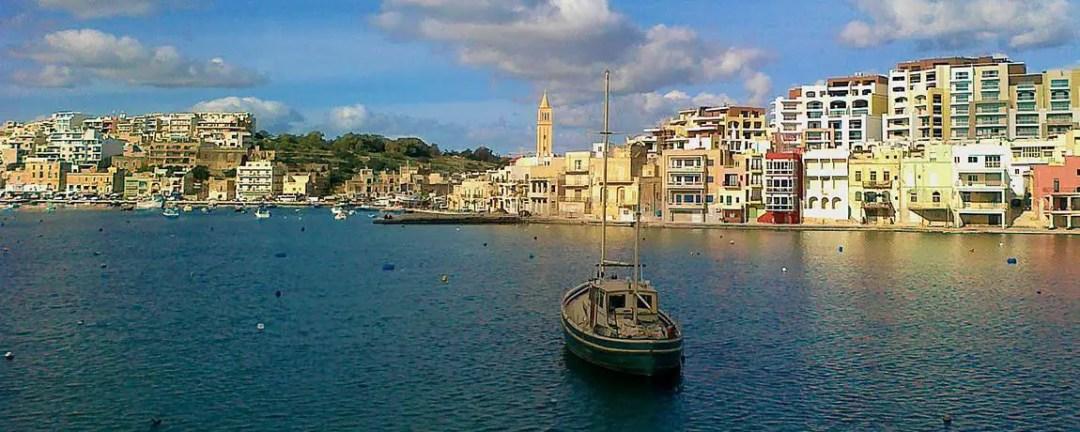 View from the bay of Marsaskala, Malta captured by UrbanMalta.